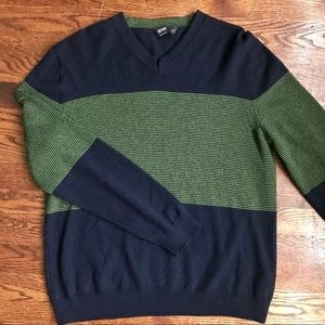 Hugo Boss wool V-neck sweater